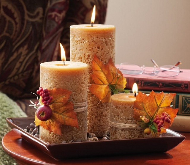 Even the turkey will like your decor Even the turkey will like your decor candles thanksgiving decorations 962x835  Deco NY | Home Design Guide candles thanksgiving decorations 962x835