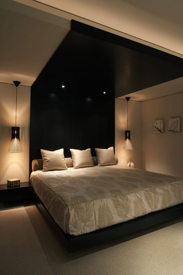 Sleep Event 2013 - Don't miss a thing Sleep Event 2013 – Don't miss a thing king size bed design black headboard black ceiling bedroom interior decor