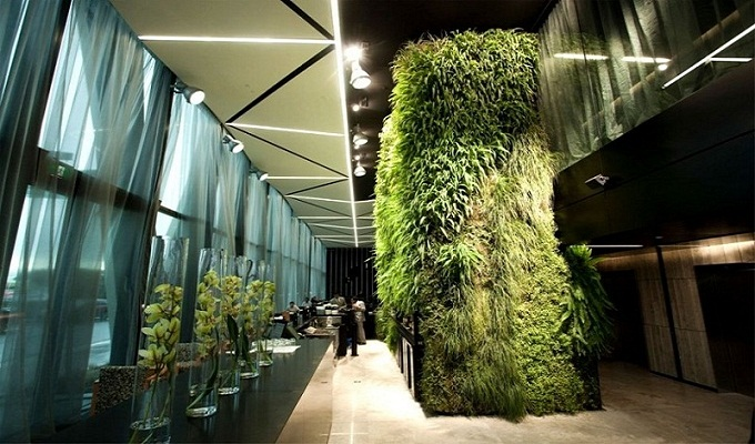 The hottest hotel trends for 2014 The hottest hotel trends for 2014 green wall hotel 950x6332  Deco NY | Home Design Guide green wall hotel 950x6332