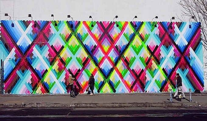 The Latest Art Sensation in New York City The Latest Art Sensation in New York City maya street art mural NYC 2  Deco NY | Home Design Guide maya street art mural NYC 2