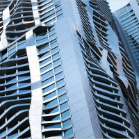 Beekman Tower by Frank Gehry