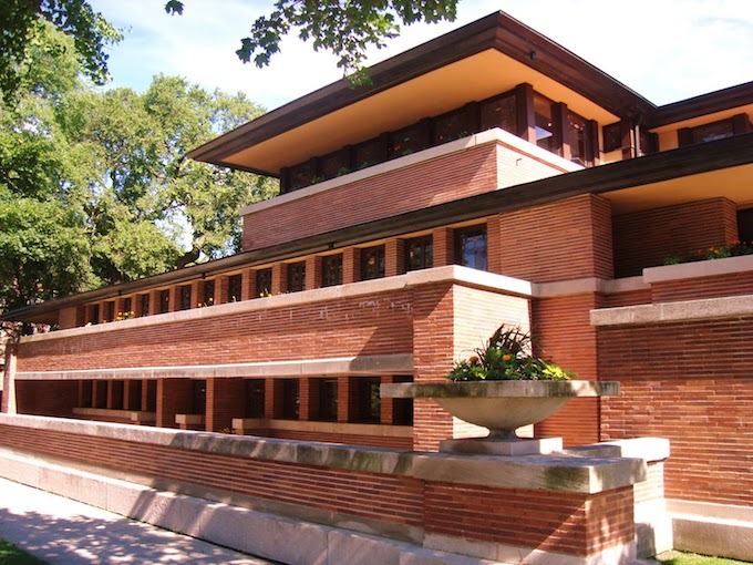 MUST-SEE: TOP 10 BUILDINGS IN AMERICA THAT CHANGED THE HISTORY  MUST-SEE: TOP 10 BUILDINGS IN AMERICA THAT CHANGED THE HISTORY Robie House Chicago 1910 by Frank Lloyd Wright