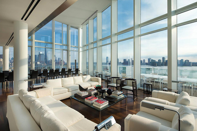 New York Penthouse Apartment Design Ideas Decony