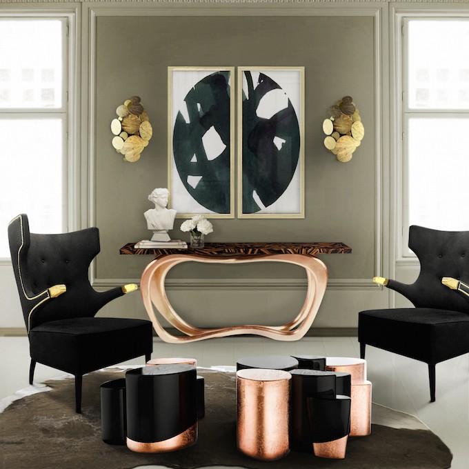 Trends Furniture 2017 trend: black furniture in the interior