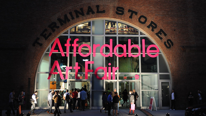 """Affordable Art Fair New York 2015"" Affordable Art Fair New York 2015 Affordable Art Fair New York 2015 afforable art fair tunnel NYC"