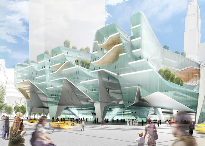 """Four architects reimagine New York's Penn Station"""