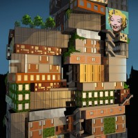 Alternative Tower for MoMA  by Axis Mundi
