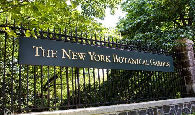 A new restaurant in New York's Botanical Garden