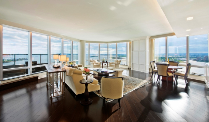 Ritz-Carlton Penthouse Trio in NYC
