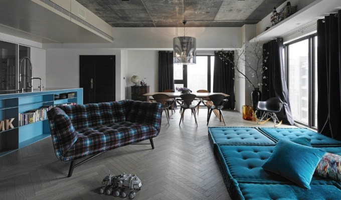 Top decor ideas: Interior decorating with blue Top decor ideas: Interior decorating with blue Top decor ideas: Interior decorating with blue contemporary interior by Ganna Design