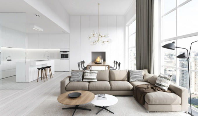Decoration trends: Contemporary design gets lighter and cleaner