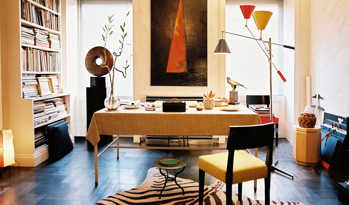 Albert Hadley's Classy Apartment in NYC
