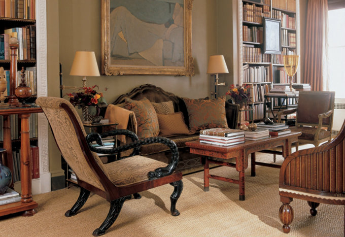 6 elegant residential projects by Bunny Williams-Bunny´s Apartment