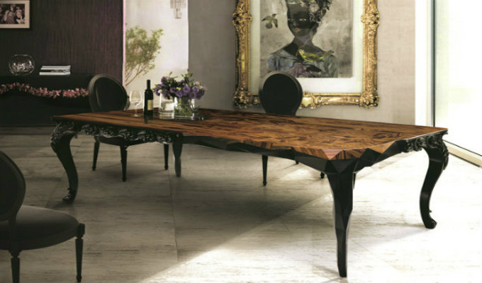 Boca Do Lobo Royal Table dining room trends for 2016 Top 10 dining room trends for 2016 Boca Do Lobo Royal Table