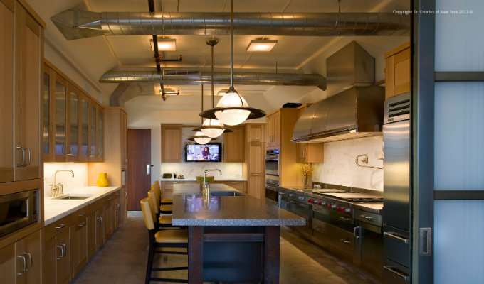 st. charles of new york Iconic Projects by St. Charles of New York Tribeca Loft Kitchen by St Charles of New York 11