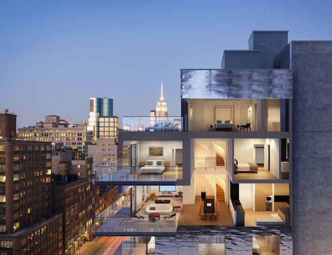 5 elegant projects that Selldorf Architects made in NYC.-347 BOWERY