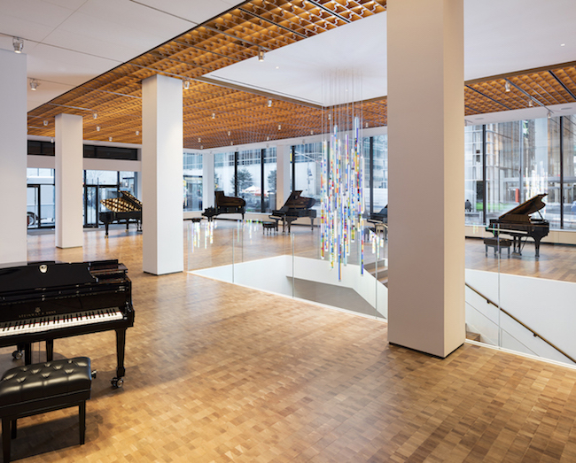 5 elegant projects that Selldorf Architects made in NYC.-STEINWAY HALL