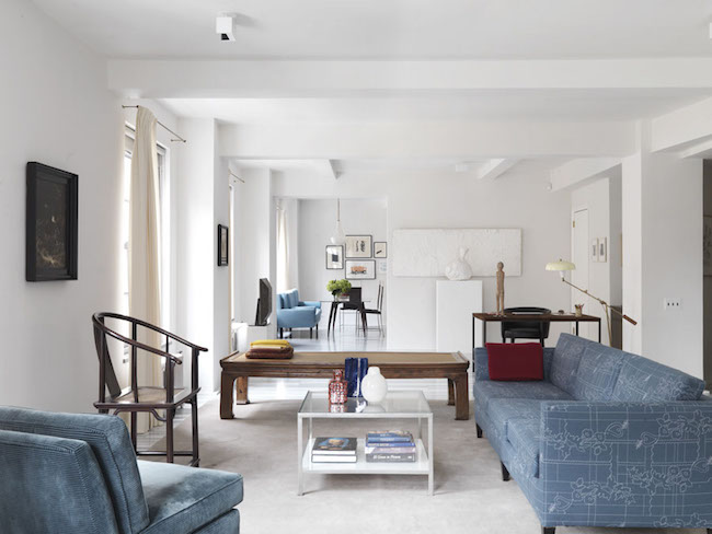 5 elegant projects that Selldorf Architects made in NYC.-FIFTH AVENUE APARTMENT