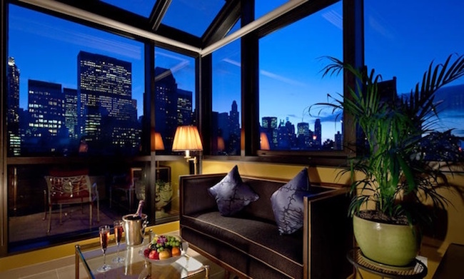 Interior Design Ideas from NYC best Hotels- Hotel Plaza Athénée in NYC