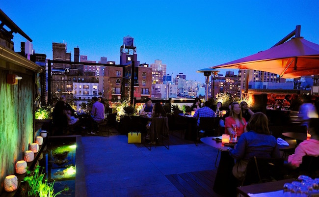 The best rooftop bars in NYC-Roof at Park South copy
