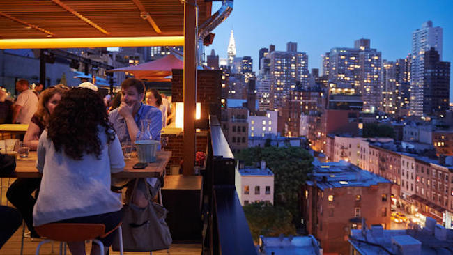 The best rooftop bars in NYC-Roof at park South