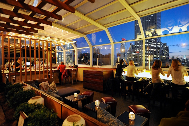 The best rooftop bars in NYC-Top of the Strand