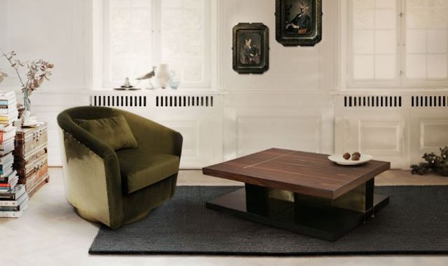 10 WOOD COFFEE TABLES FOR A SOPHISTICATED LIVING ROOM SET-LALLAN Cocktail Table by BRABBU