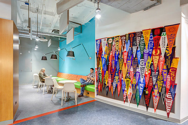 TED MOUDIS ASSOCIATES BEST INTERIOR DESIGN PROJECTS IN NY- Chicago Scholars