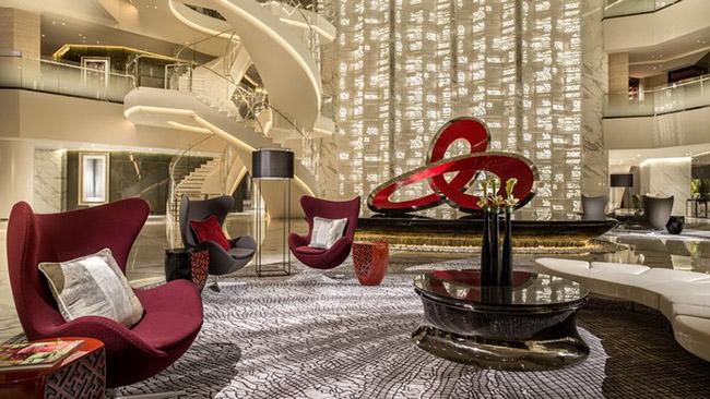 TOP 10 Hotel Lobby Designs Lobby Designs TOP 10 Hotel Lobby Designs Four Seasons Hotel Guangzhou
