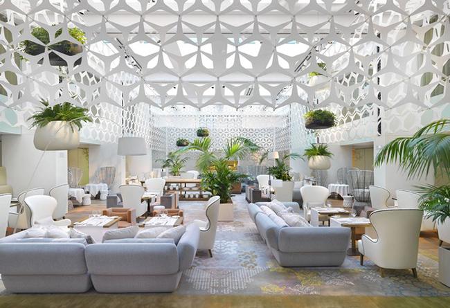 TOP 10 Hotel Lobby Designs Lobby Designs TOP 10 Hotel Lobby Designs Mandarin Oriental Barcelona