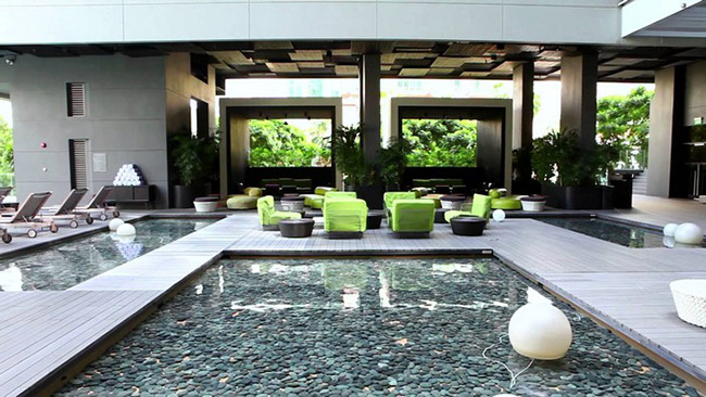 TOP 10 Hotel Lobby Designs Lobby Designs TOP 10 Hotel Lobby Designs Studio M Hotel Singapore