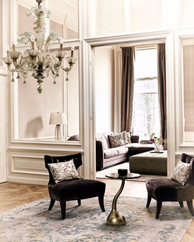 modern interior design MODERN INTERIOR DESIGN PROJECTS THAT WILL BLOW YOUR MIND C Residential Project KOKET Ethnic Chic living room design Archi living resize
