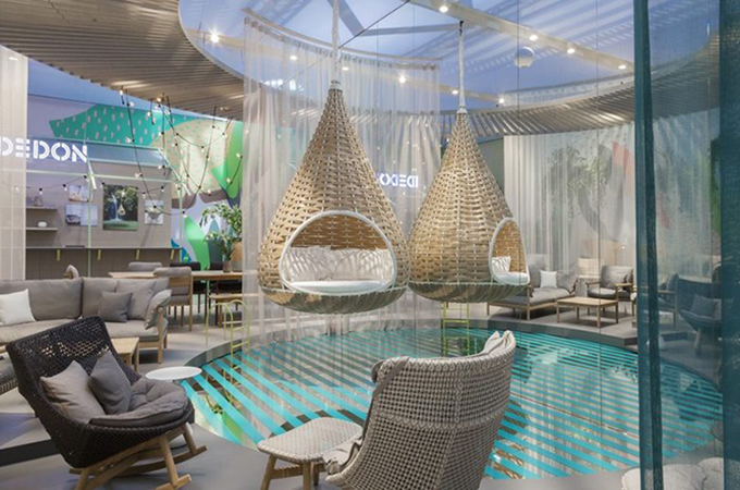 Salone del Mobile 2017 Setting Summer Trends:Hideaway Beach by DEDON