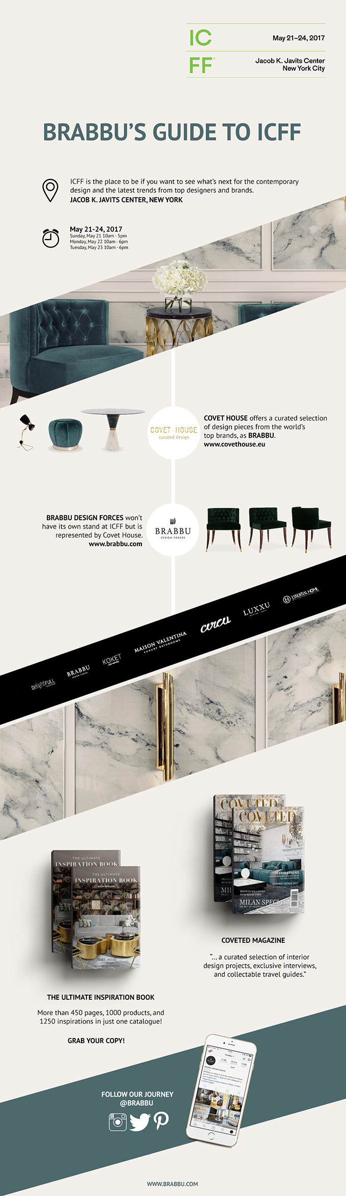 ICFF BRABBU'S Ultimate guide for ICFF & New York Design Week decon