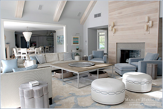 5 luxurious living room ideas by incredible hamptons - Green living room ideas in east hampton new york ...