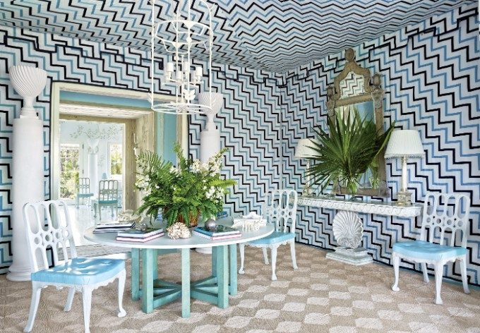 interior design trends 4th of July: The Designers Setting Interior Design Trends miles redd ad100 07 e1498663480627