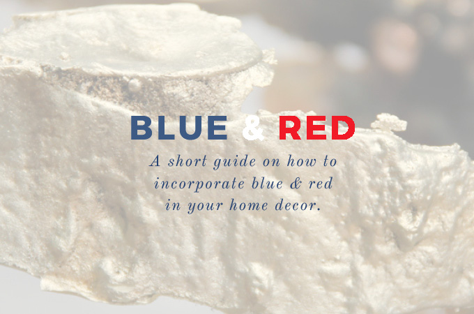 4th of july 4th of July Incredible Interior Design Inspiration: How to Decorate with Blue & Red capa deco