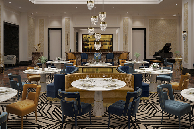 Best New York Restaurant Interiors to Visit This Summer new york restaurant interiors Best New York Restaurant Interiors to Visit This Summer brabbu ambience press 116 HR