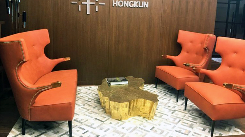 Interior Design Hongkun Group Chooses Portuguese Interior Design Brands for NY Office capa