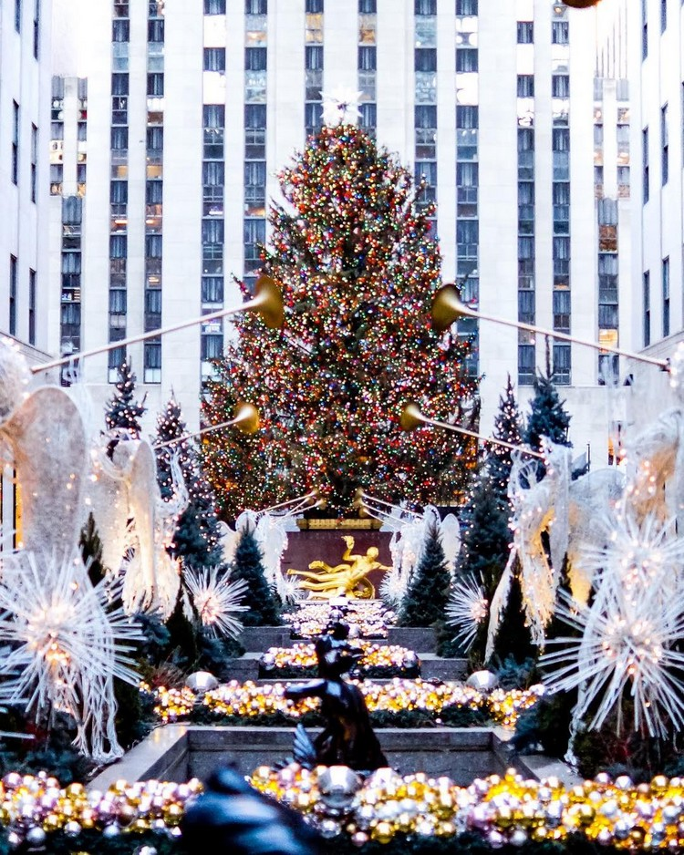 rockefeller center christmas tree, rockefeller center, rockefeller, tree, christmas tree, christmas, magical, holiday destination, christmas season, santa, magical season, holiday season, festive season, season, new york city, new york interiors, new york designer, new york spaces, new york design, new york, nyc, winter wonderland, christmas lights, winter time, holiday markets, ice skating, spirit, luxury, rockefeller plaza, tree lighting ceremony, nbc, norway spruce, lights, swarovski star, architect, daniel libeskind, christmas decorations,  Rockefeller Center Christmas Tree Rockefeller Center Christmas Tree 2018 (Part I) 26225163 137324206961194 4896972190202724352 n