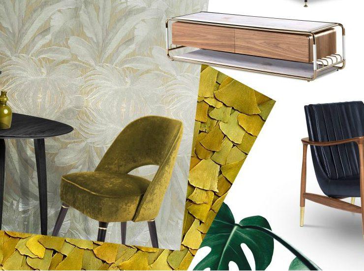 design trends, luxury brands, Metallic Black Matte, AD Show, Holographic Avant Garde, Art Deco Retro Vibe, IMM Cologne, Salone Del Mobile, Maison et Objet design trends Design Trends For 2019 By Top Luxury Brands(Part I) feature2 740x551
