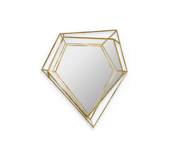 modern mirrors Modern Mirrors To Match Your Living Room Sideboard diamnd2