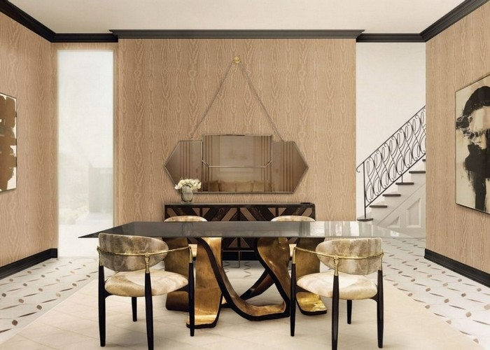 modern mirrors Modern Mirrors To Match Your Living Room Sideboard egoist