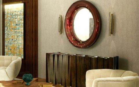 modern mirrors Modern Mirrors To Match Your Living Room Sideboard featue 480x300