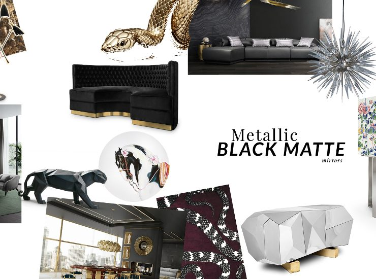 design trend Design Trend: Metallic Black Matte feature 1 740x550  Deco NY | Home Design Guide feature 1 740x550
