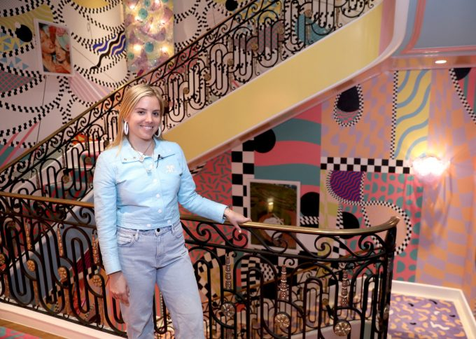 Sasha Bikoff Make Hight Point Market Colorful