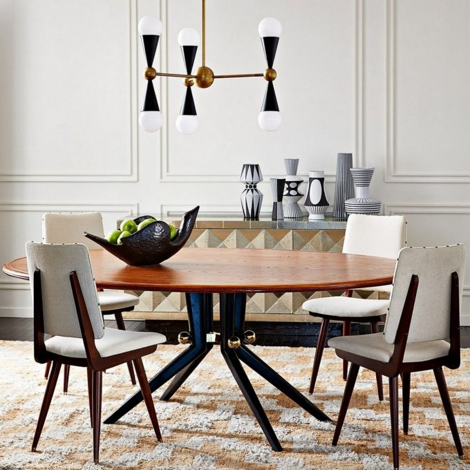 DINING ROOM PROJECTS BY JONATHAN ADLER jonathan adler DINING ROOM PROJECTS BY JONATHAN ADLER 1 Pinterest 680x680