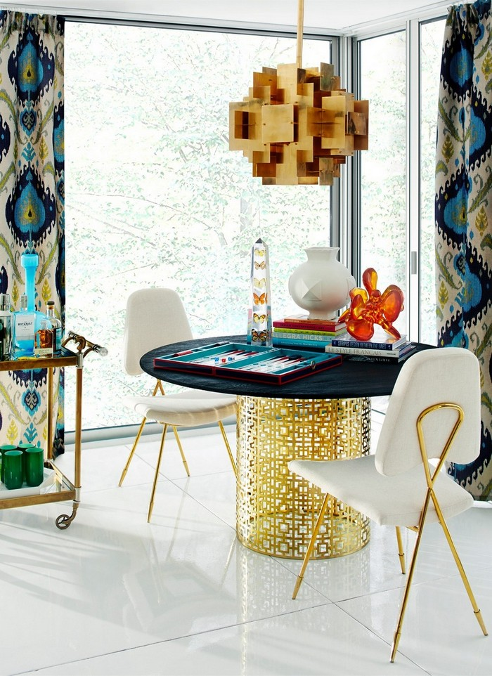 MODERN DINING TABLE BY JONATHAN ADLER jonathan adler MODERN DINING TABLE BY JONATHAN ADLER 371de7f2 618e 4e2a 9003 91bca2475723