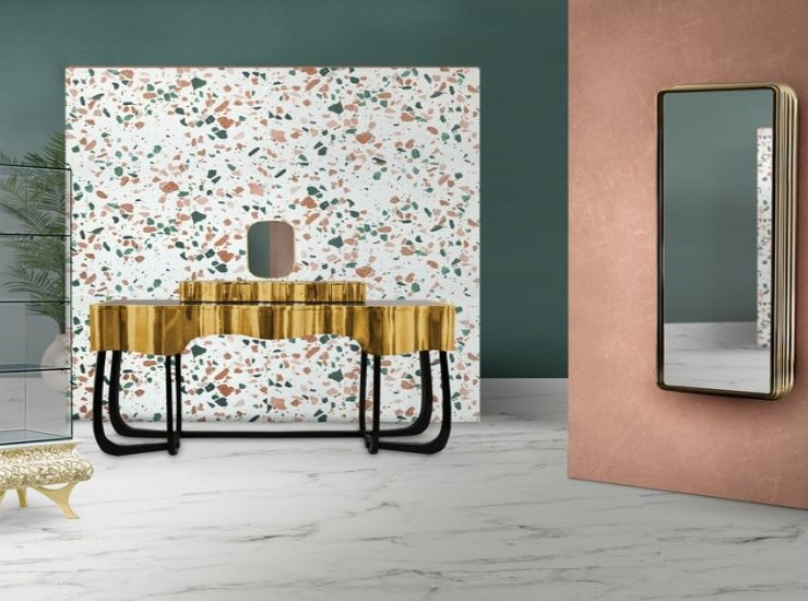modern design trends MODERN DESIGN TRENDS TO MAKE YOUR LUXURY BATHROOM BLOOM THIS SPRING terrazzo2 740x550